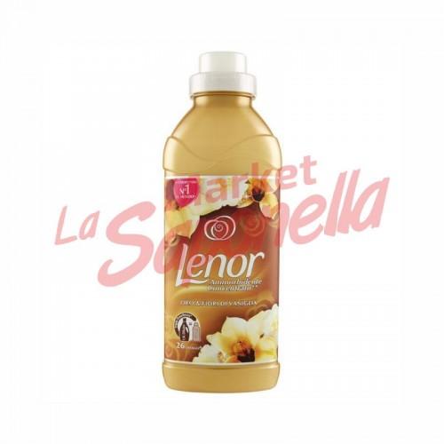 Balsam concentrat aur si flori de vanilie Lenor – 650 ml – 26 spalari